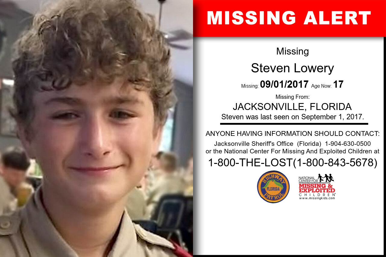 STEVEN_LOWERY missing in Florida
