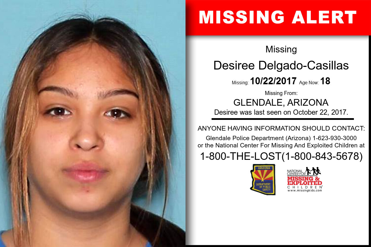 DESIREE_DELGADO-CASILLAS missing in Arizona