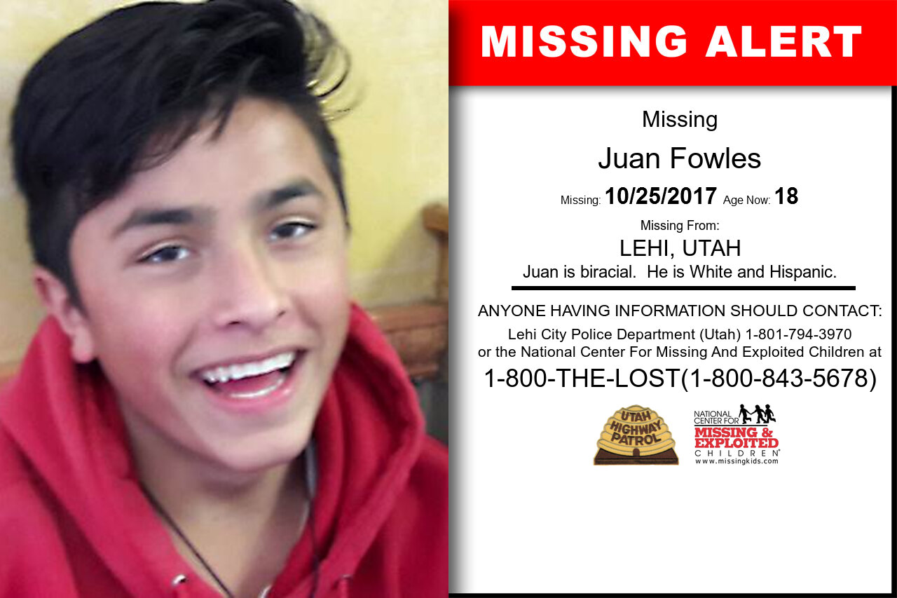 Juan_Fowles missing in Utah