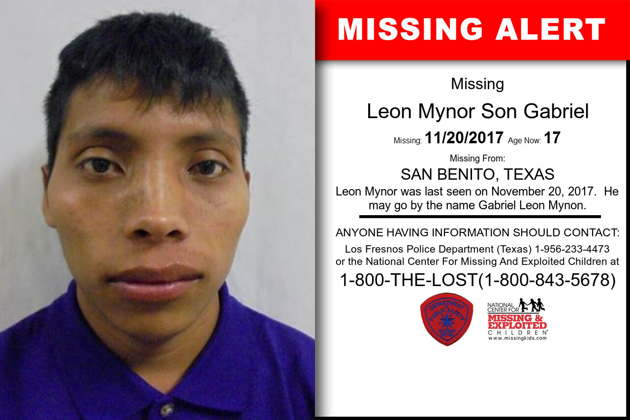 Leon_Mynor_Son_Gabriel missing in Texas