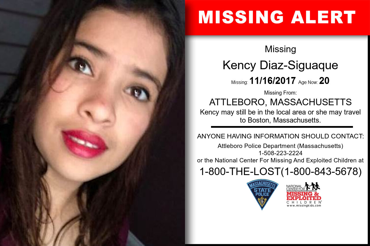 KENCY_DIAZ-SIGUAQUE missing in Massachusetts