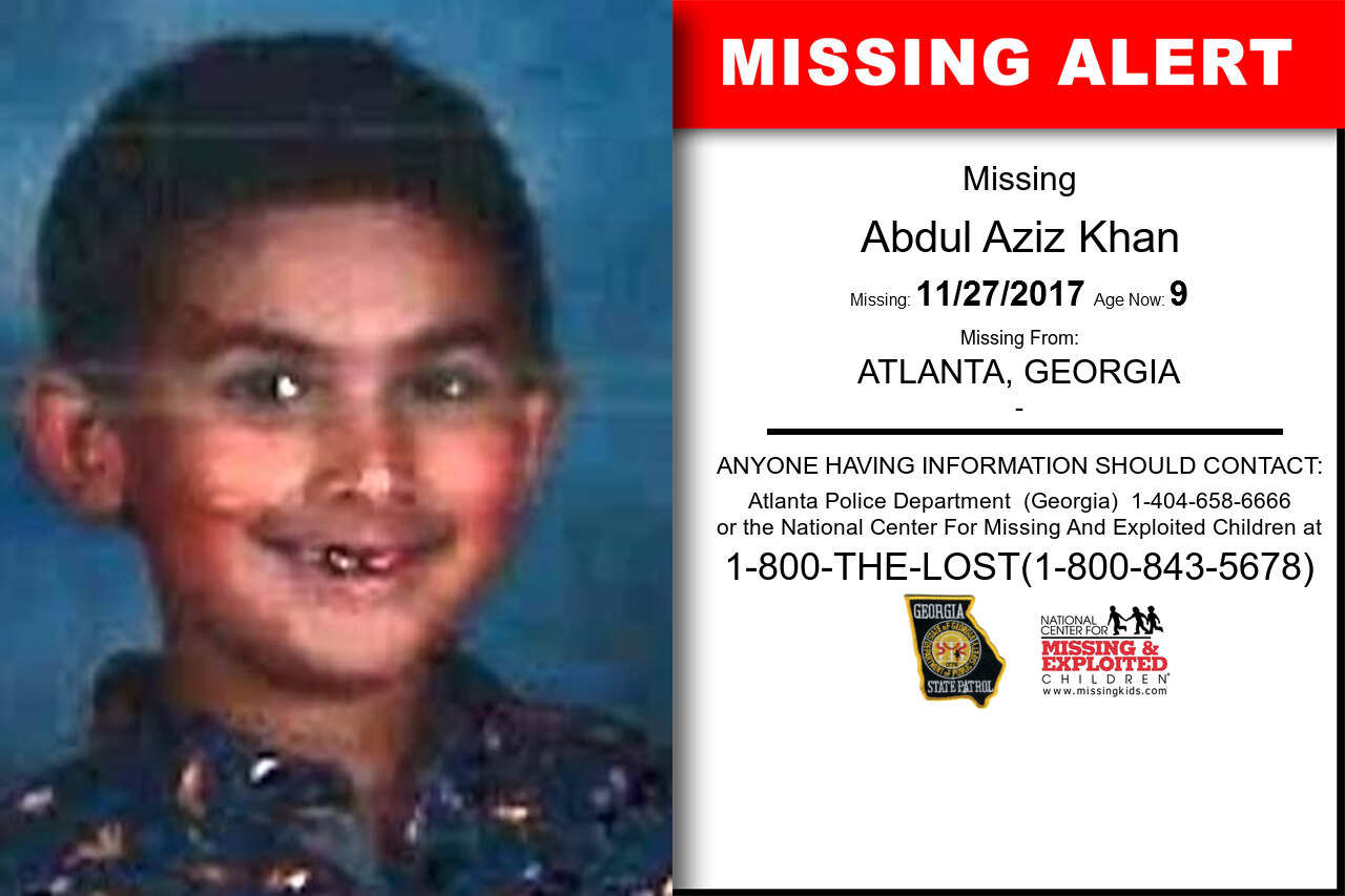 ABDUL_AZIZ_KHAN missing in Georgia