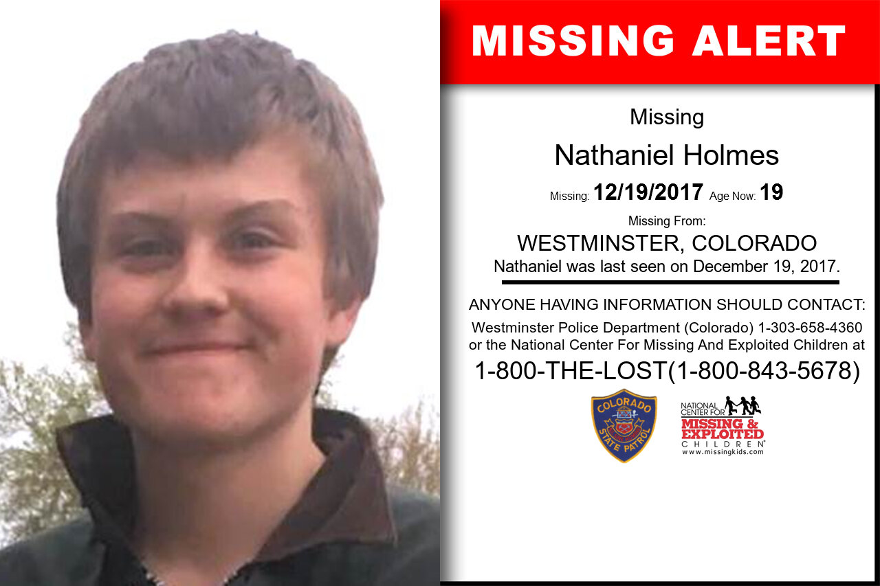 Nathaniel_Holmes missing in Colorado