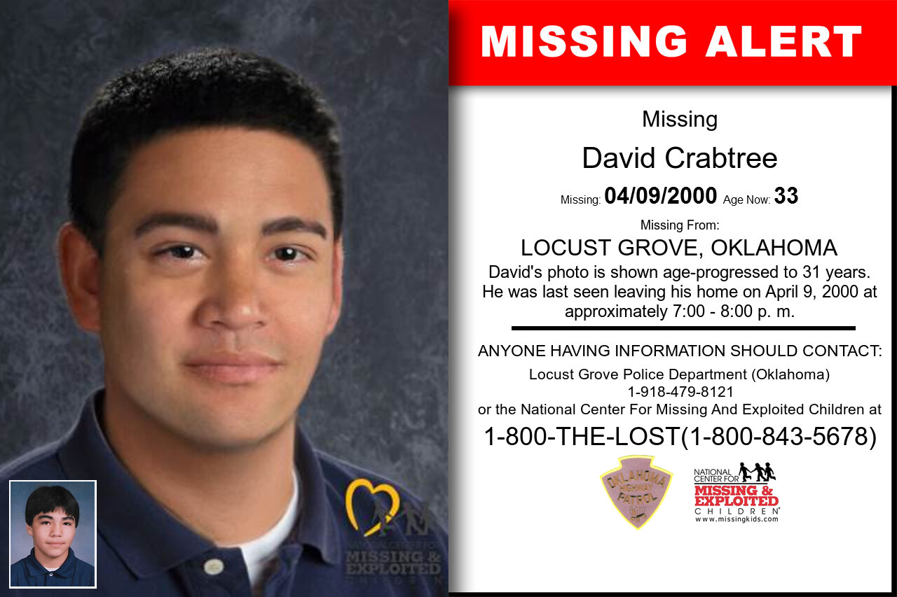 DAVID_CRABTREE missing in Oklahoma