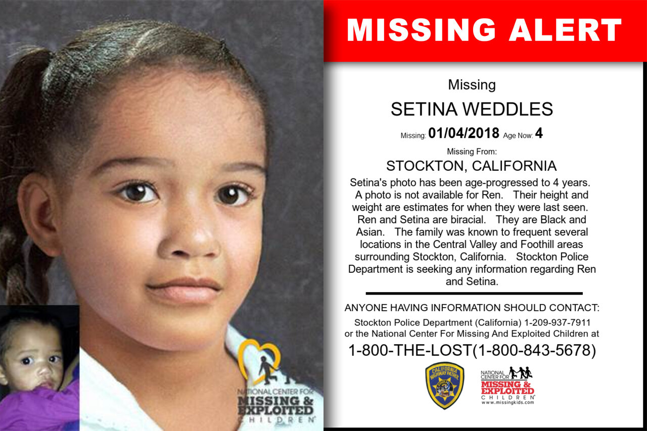 SETINA_WEDDLES missing in California