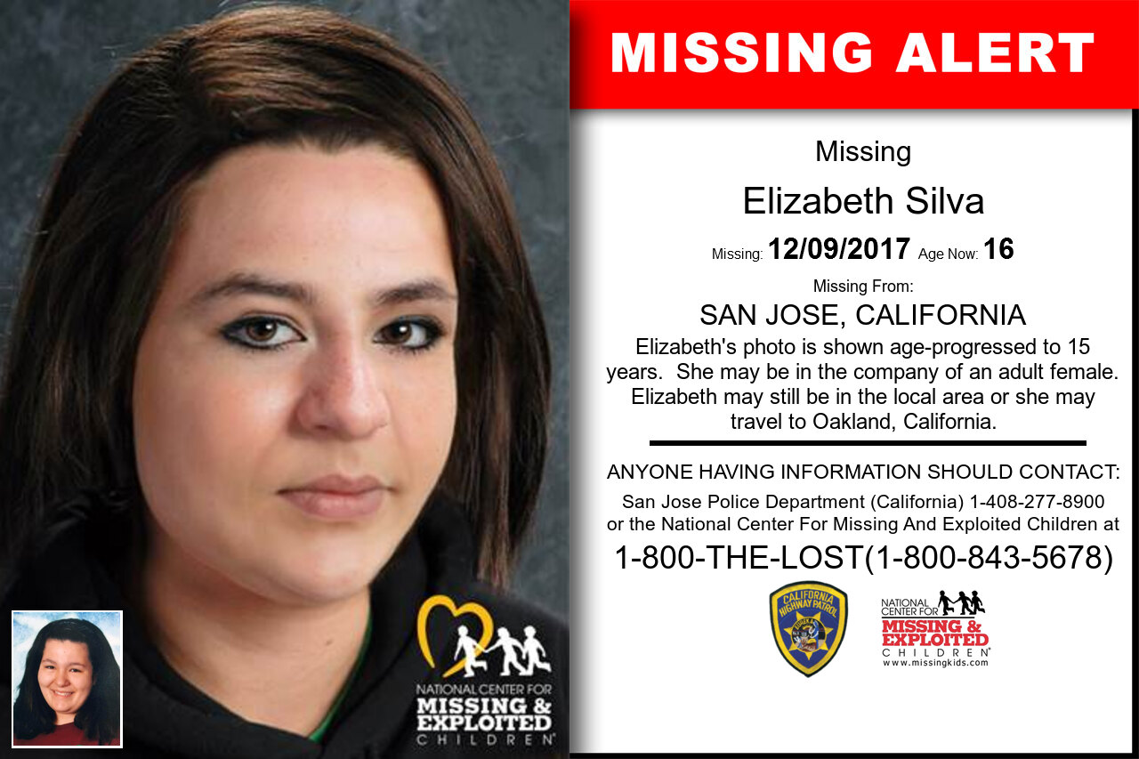 Elizabeth_Silva missing in California