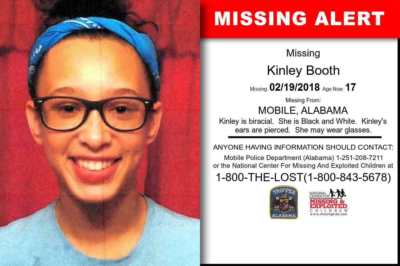 KINLEY_BOOTH missing in Alabama