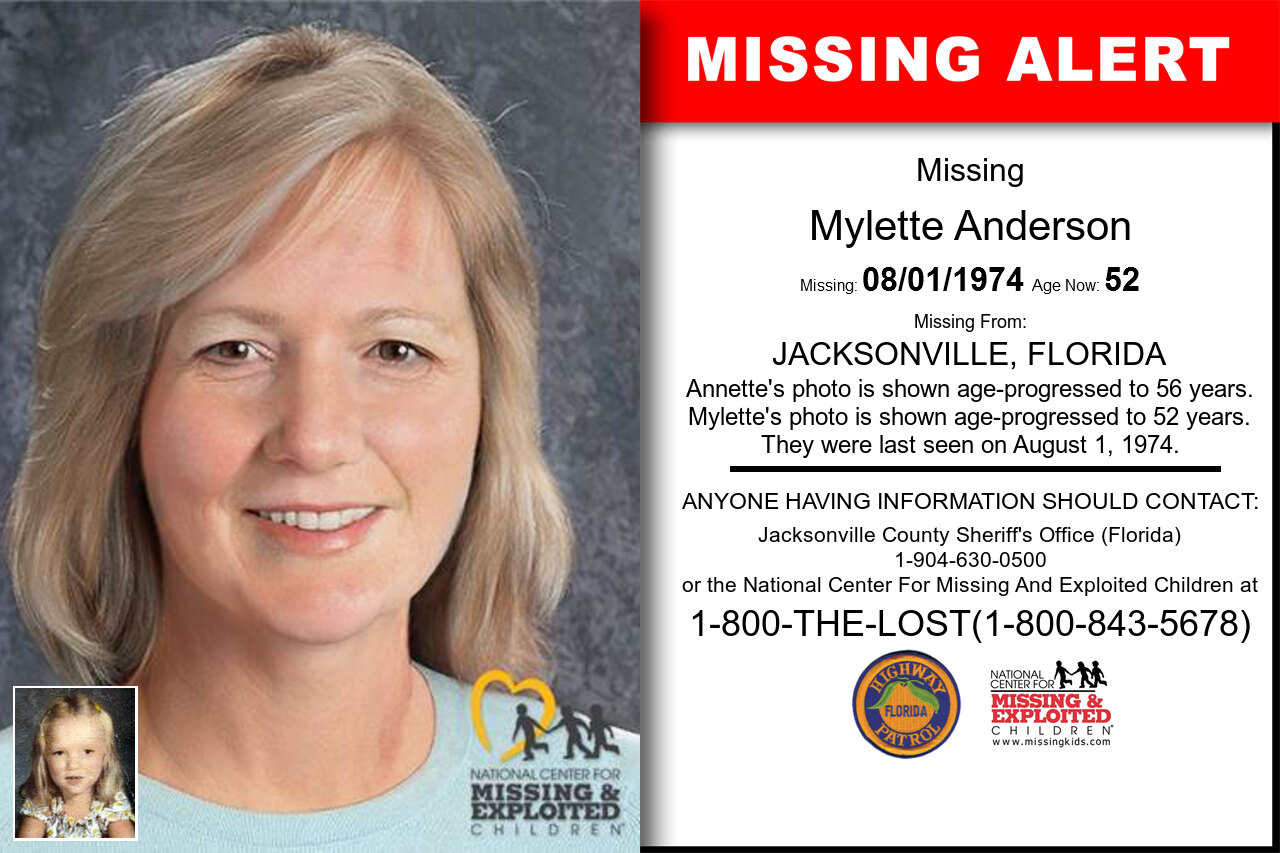 Mylette_Anderson missing in Florida