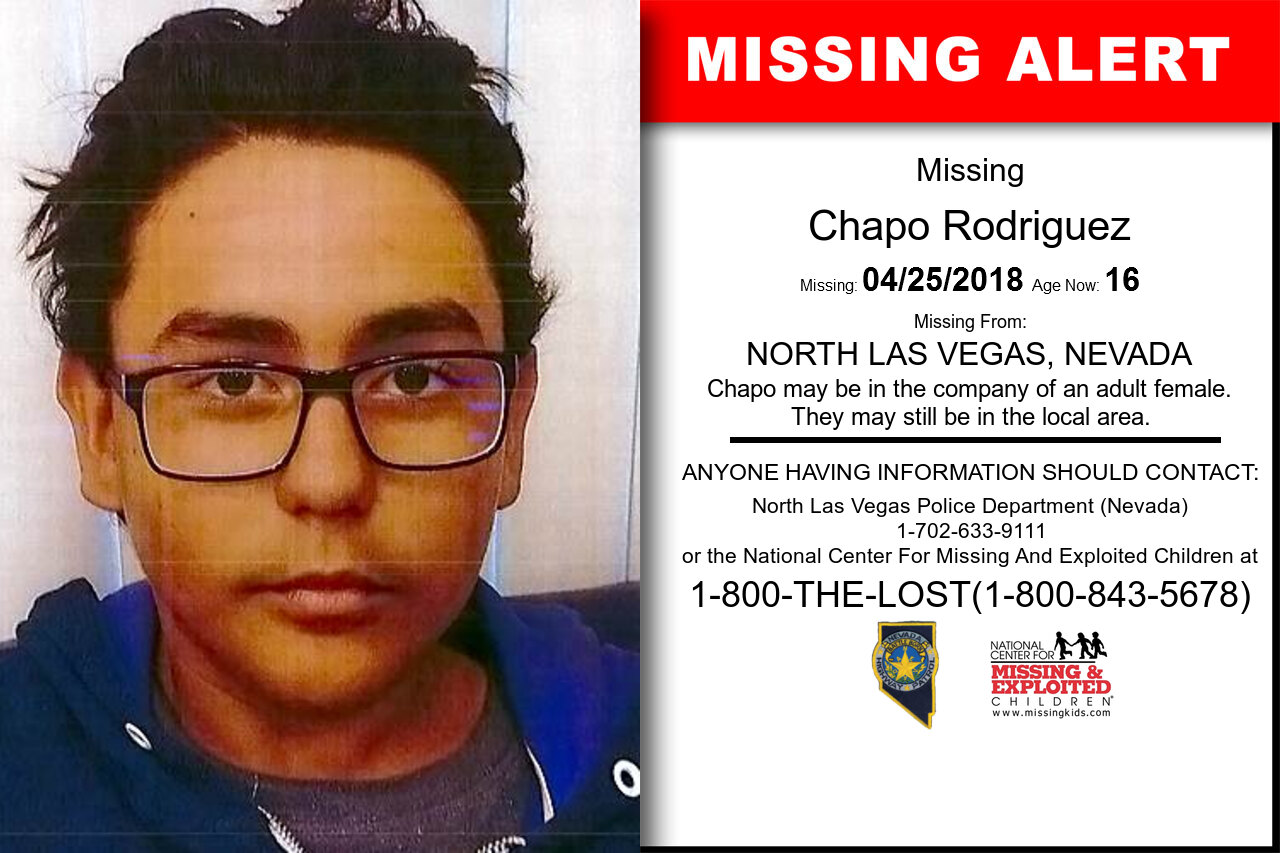 CHAPO_RODRIGUEZ missing in Nevada