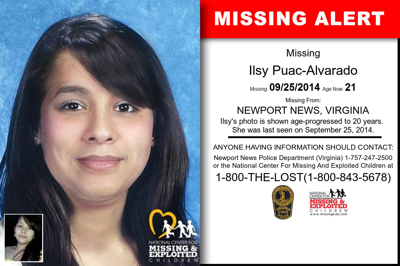 Ilsy_Puac-Alvarado missing in Virginia