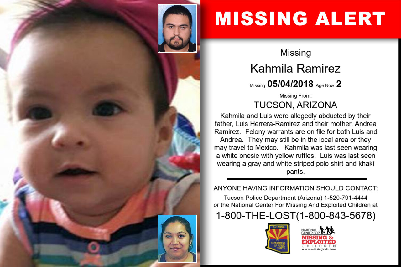 KAHMILA_RAMIREZ missing in Arizona