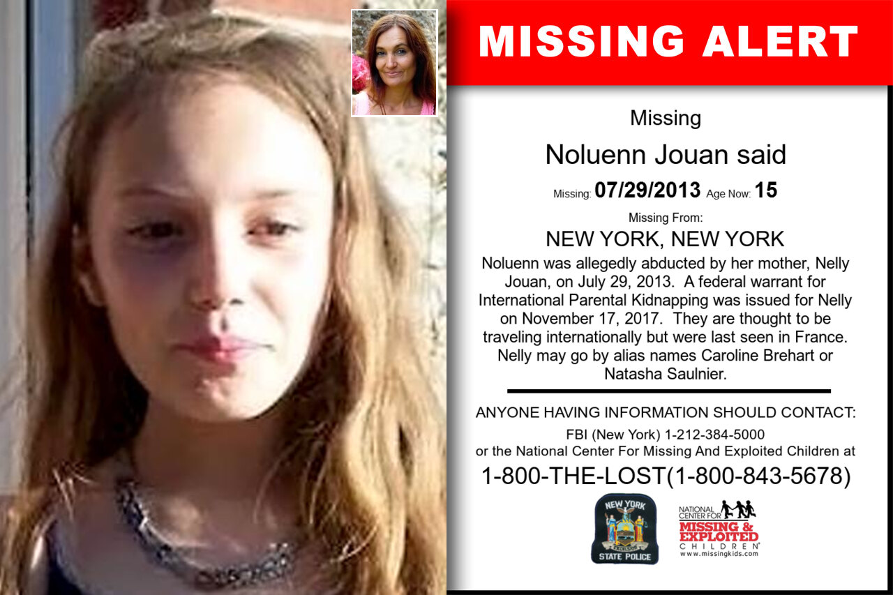 NOLUENN_JOUAN_SAID missing in New_York