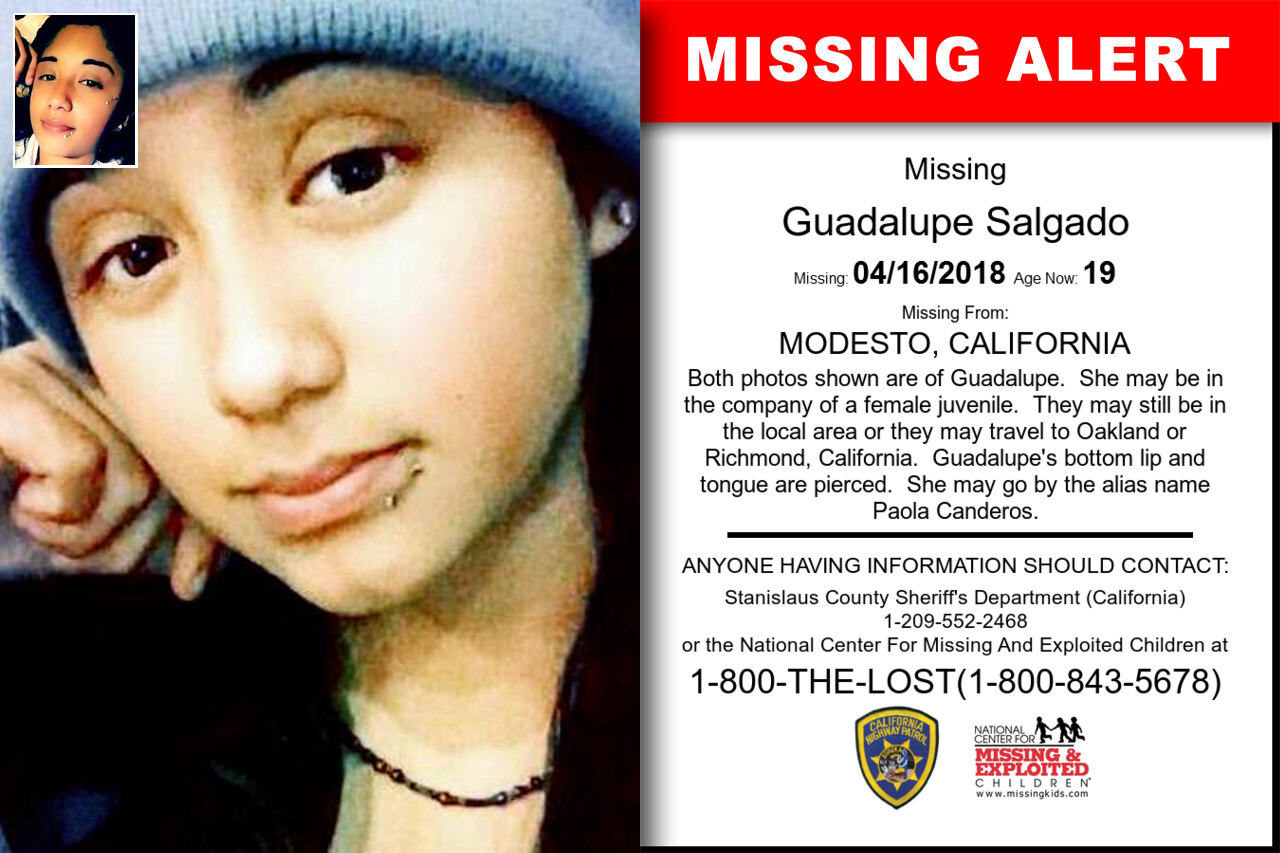 GUADALUPE_SALGADO missing in California