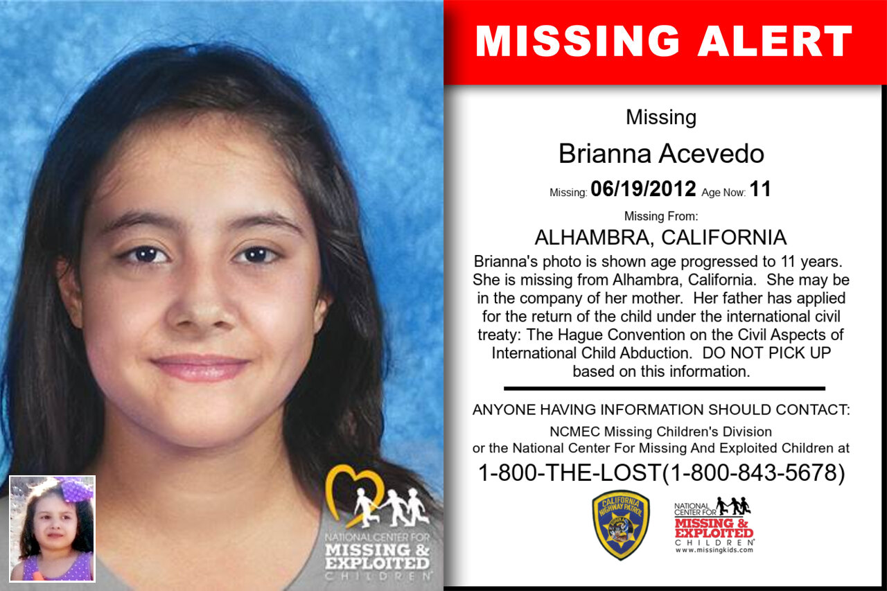 BRIANNA_ACEVEDO missing in California