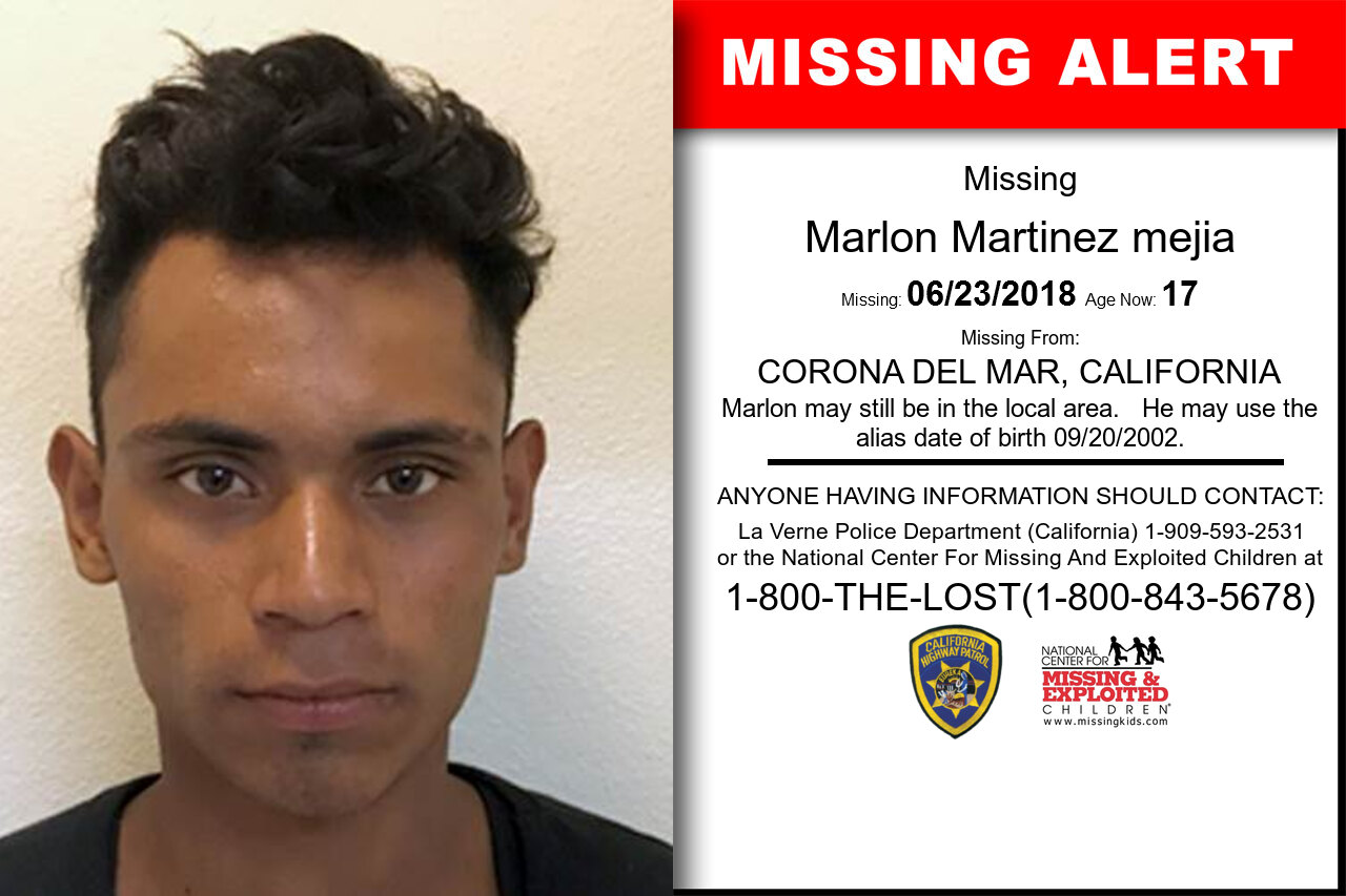MARLON_MARTINEZ_MEJIA missing in California
