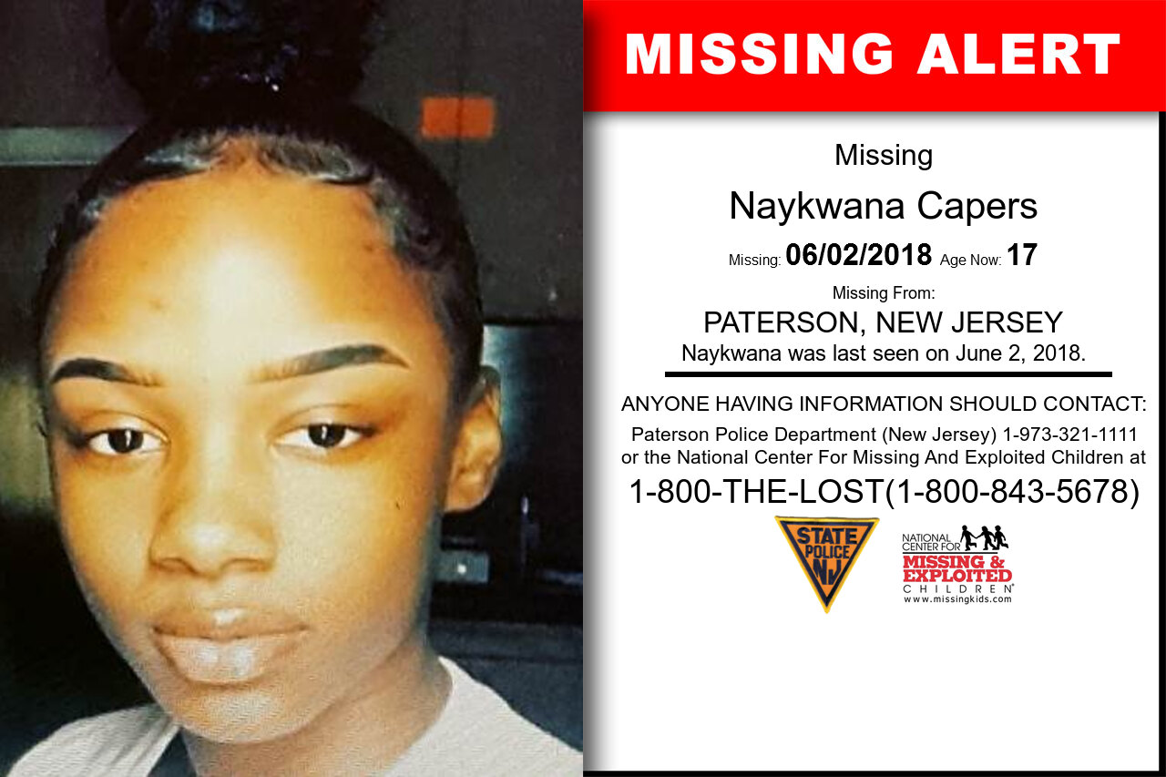 NAYKWANA_CAPERS missing in New_Jersey
