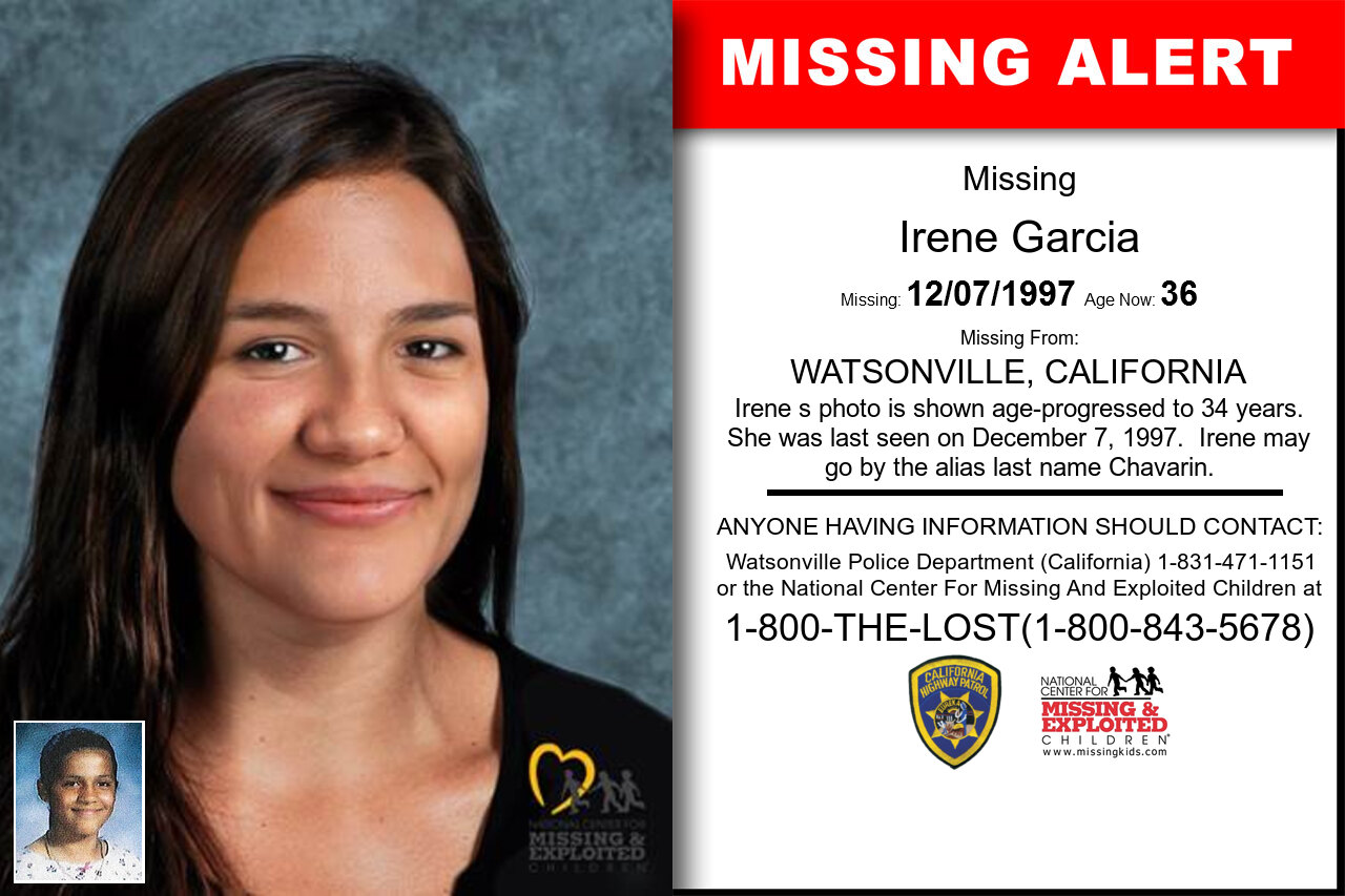 Irene_Garcia missing in California