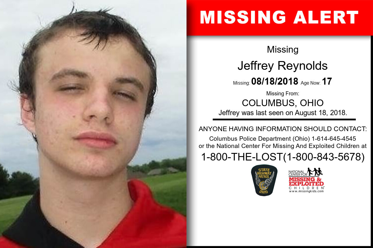 Jeffrey_Reynolds missing in Ohio