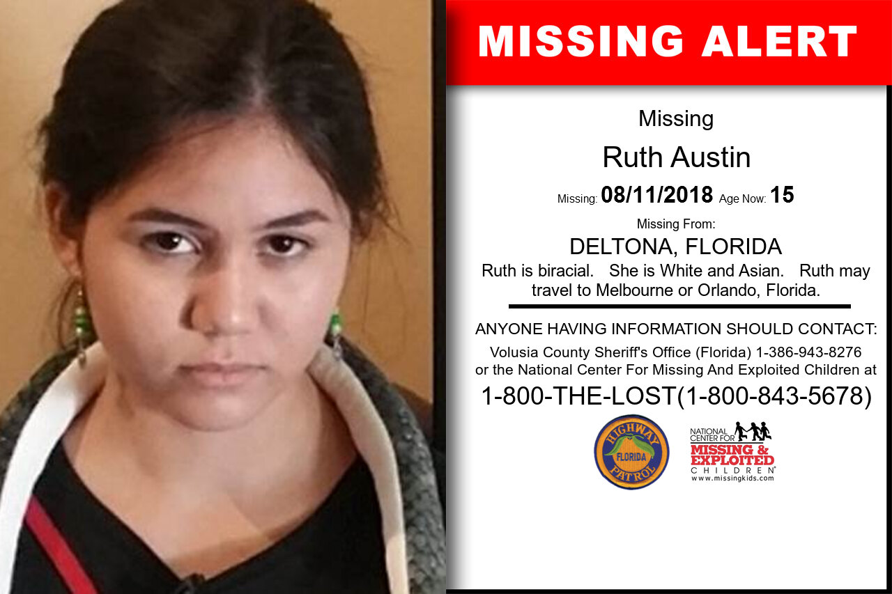 RUTH_AUSTIN missing in Florida