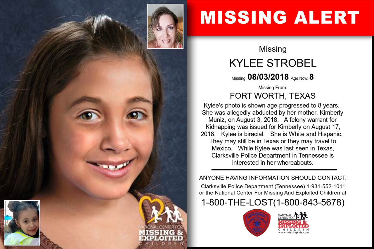 KYLEE_STROBEL missing in Texas