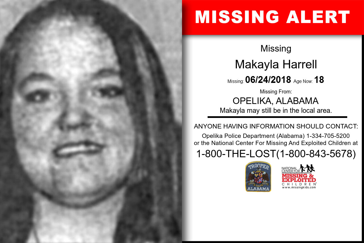 MAKAYLA_HARRELL missing in Alabama