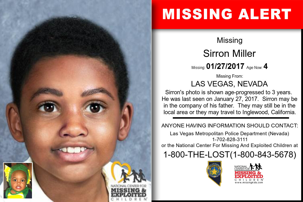 SIRRON_MILLER missing in Nevada