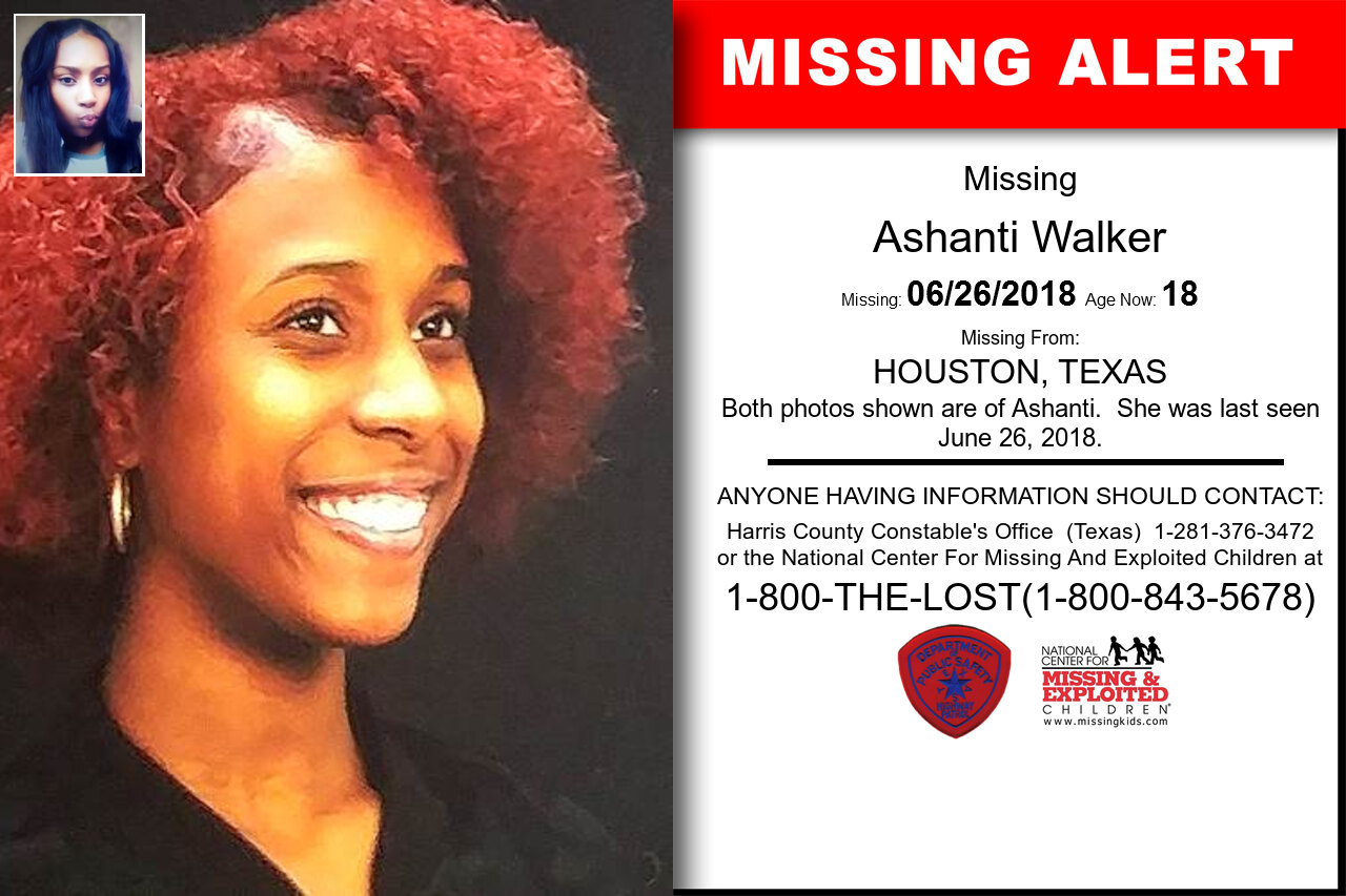 ASHANTI_WALKER missing in Texas