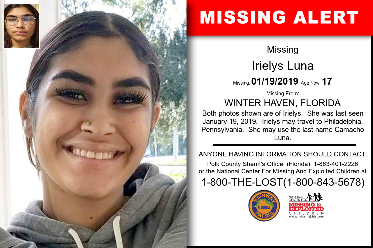 Irielys_Luna missing in Florida