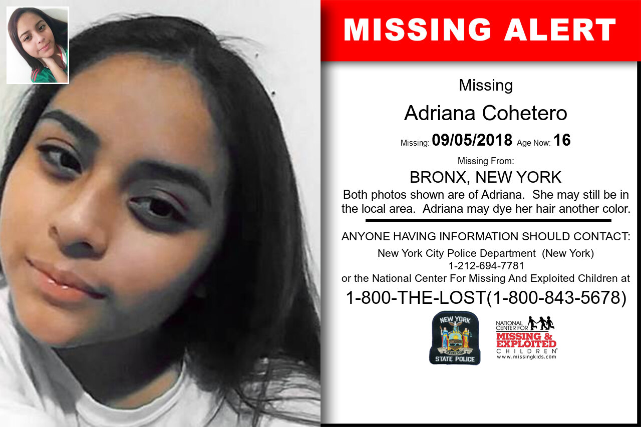 ADRIANA_COHETERO missing in New_York