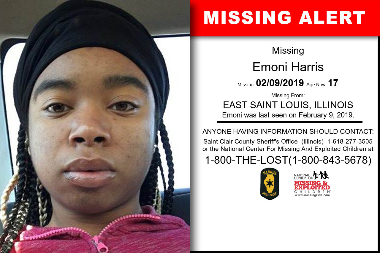 EMONI_HARRIS missing in Illinois