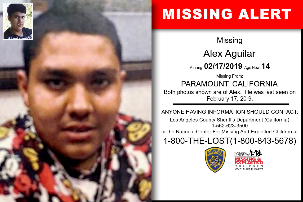 Alex_Aguilar missing in California