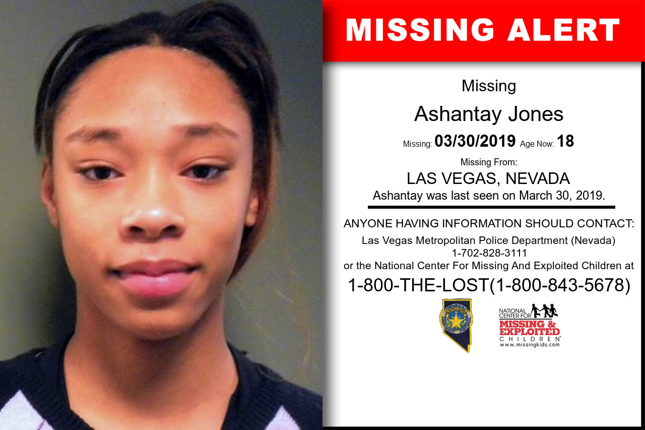 Ashantay_Jones missing in Nevada