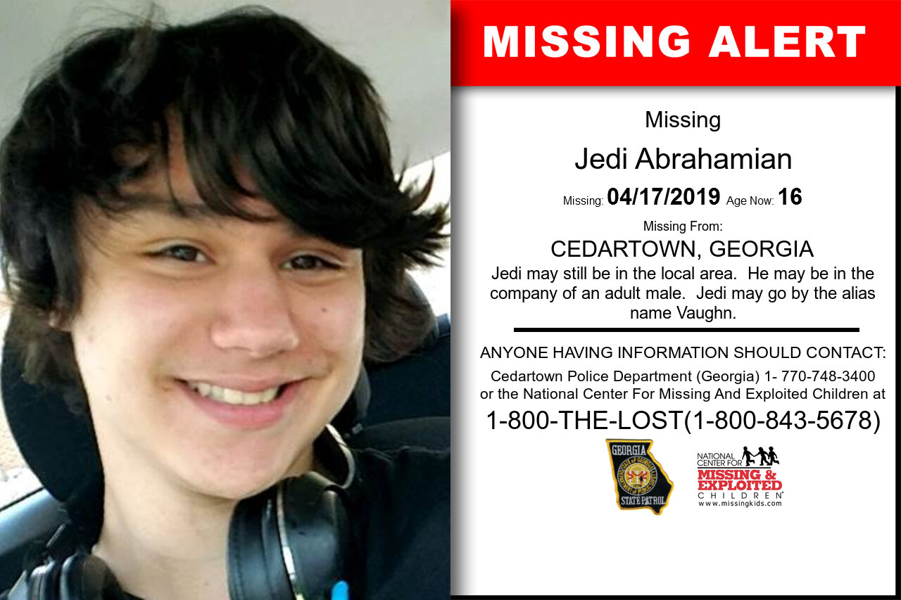 Jedi_Abrahamian missing in Georgia