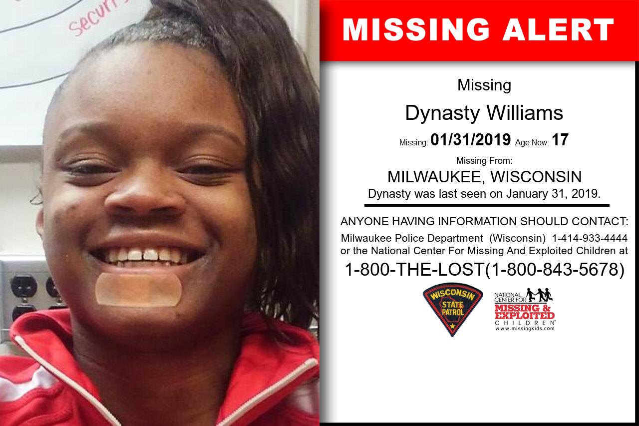 DYNASTY_WILLIAMS missing in Wisconsin