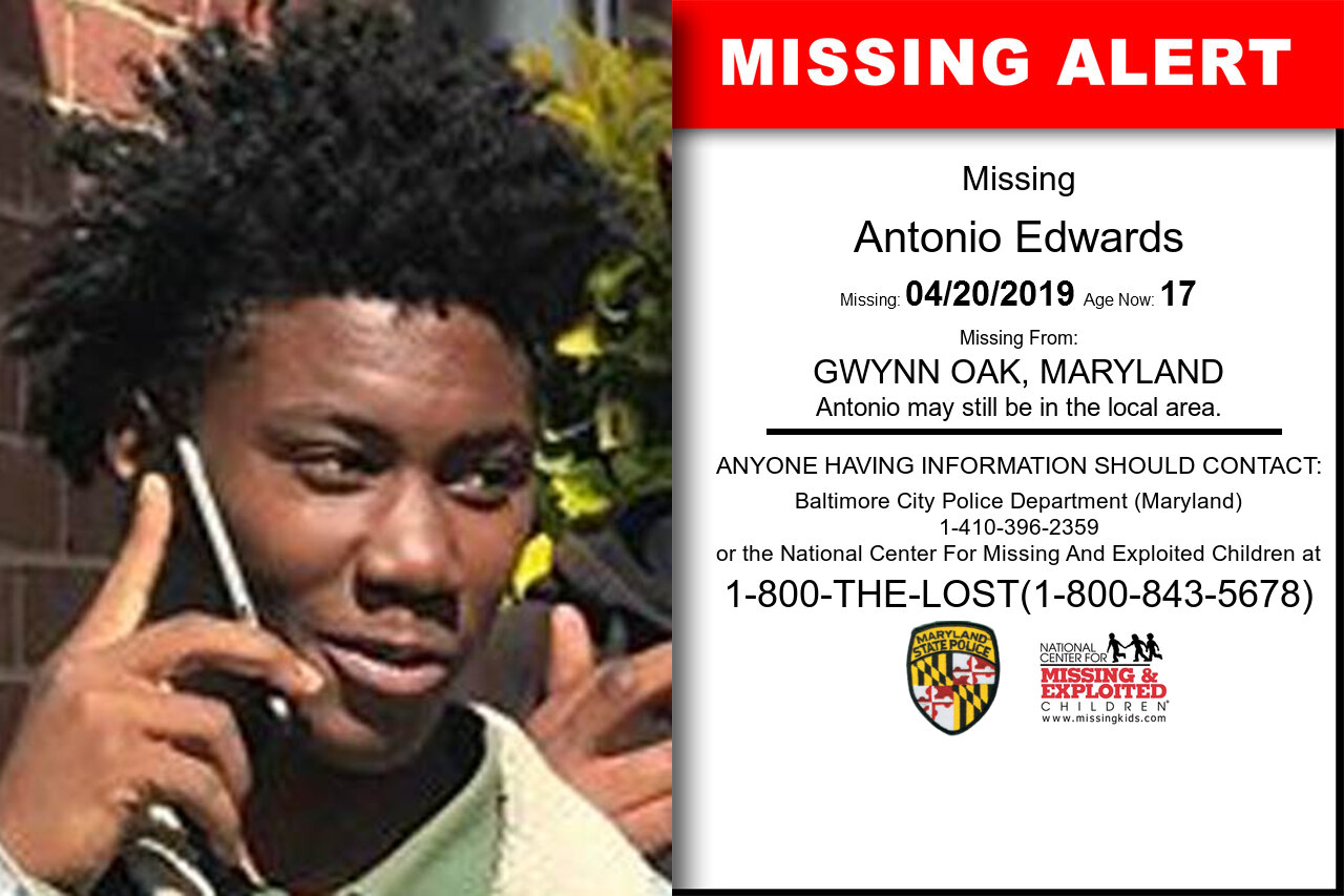 ANTONIO_EDWARDS missing in Maryland