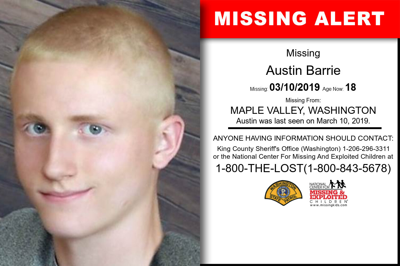 AUSTIN_BARRIE missing in Washington