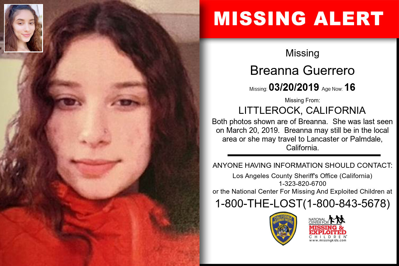 Breanna_Guerrero missing in California