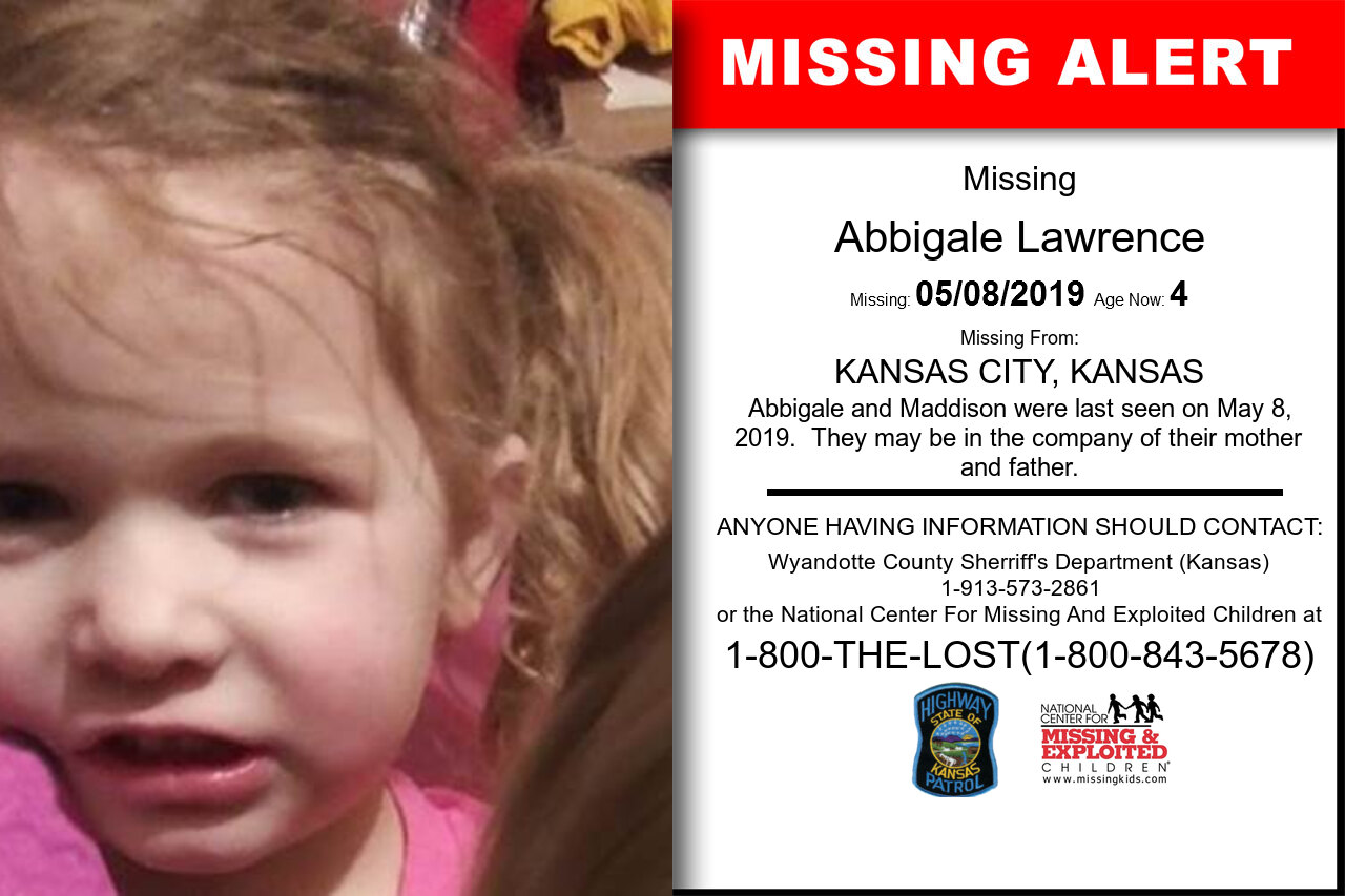 Abbigale_Lawrence missing in Kansas
