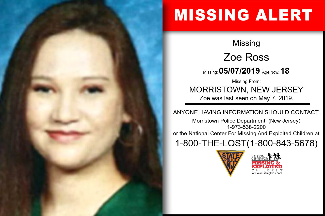 ZOE_ROSS missing in New_Jersey