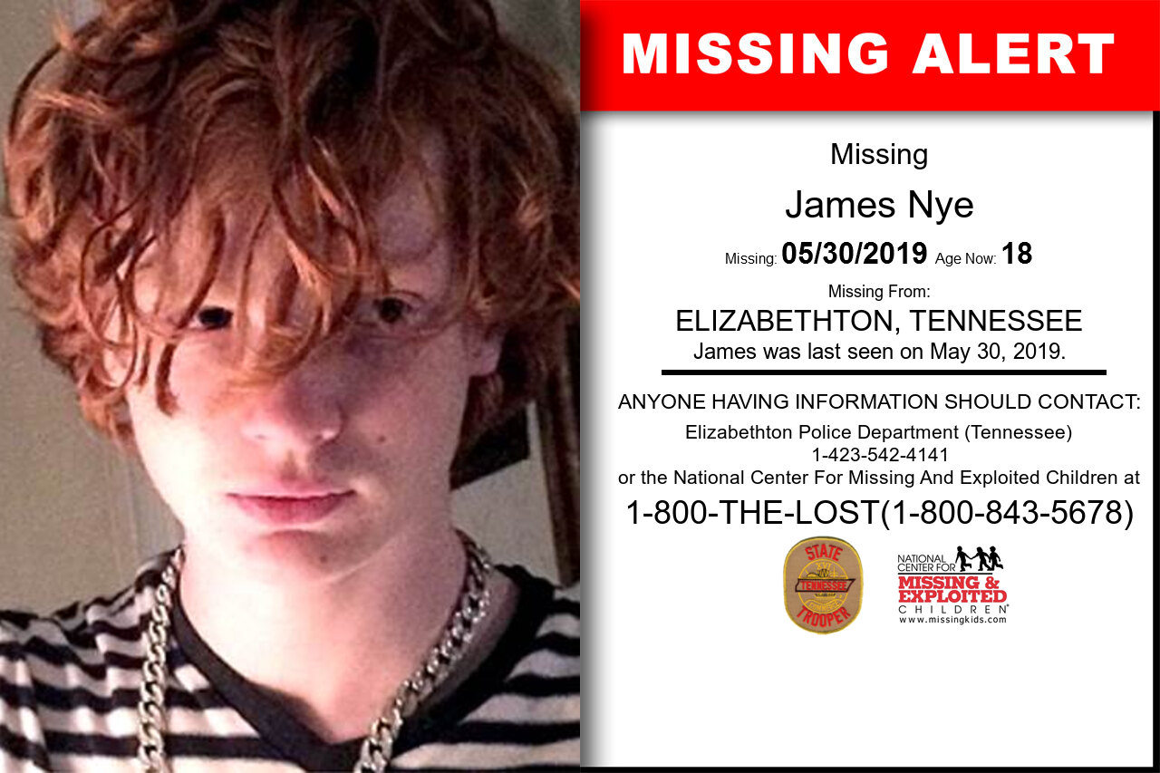JAMES_NYE missing in Tennessee