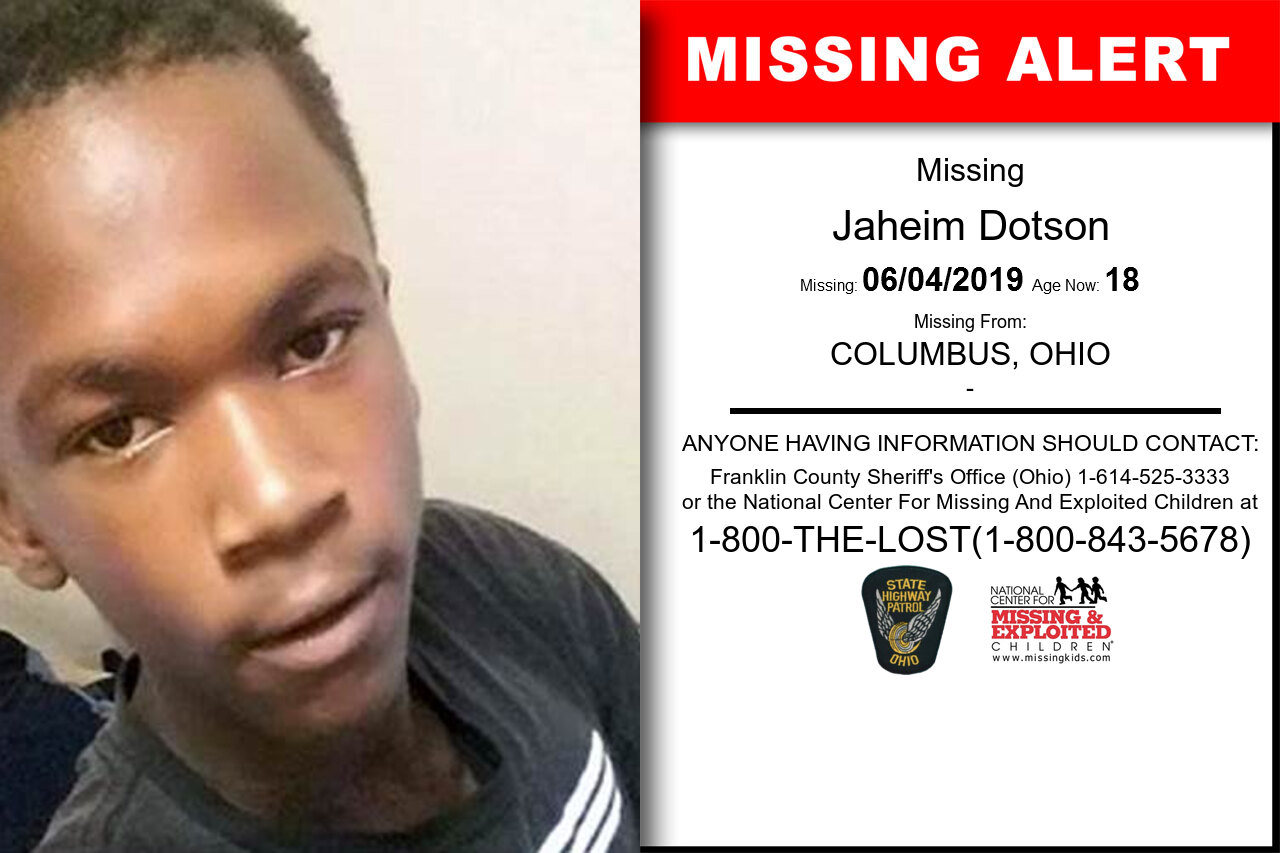 JAHEIM_DOTSON missing in Ohio