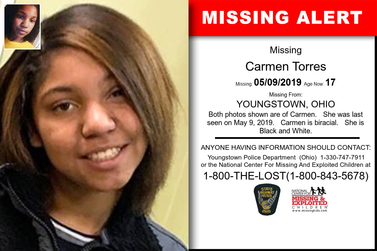 CARMEN_TORRES missing in Ohio