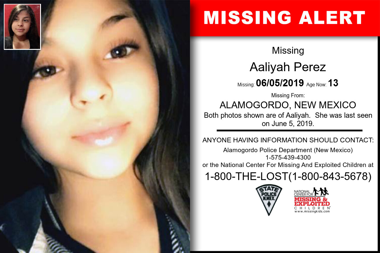 Aaliyah_Perez missing in New_Mexico
