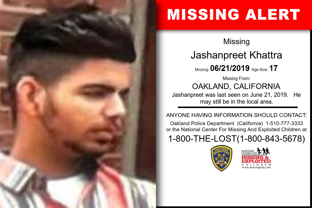 JASHANPREET_KHATTRA missing in California