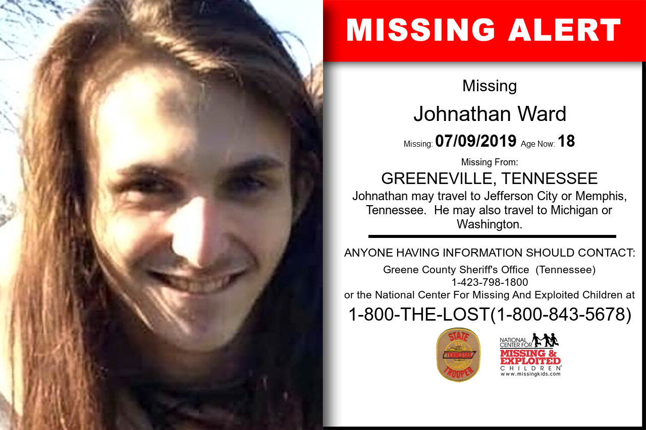 Johnathan_Ward missing in Tennessee