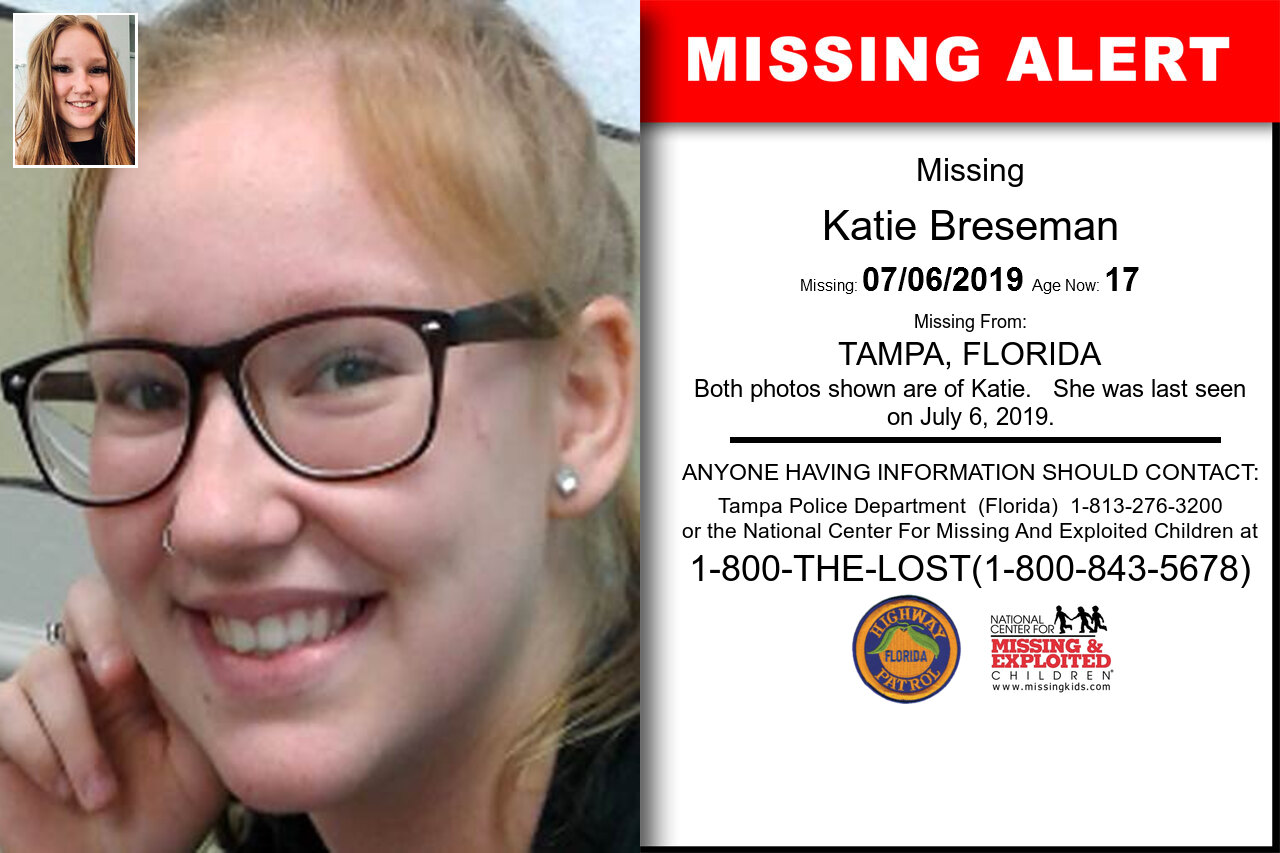 Katie_Breseman missing in Florida