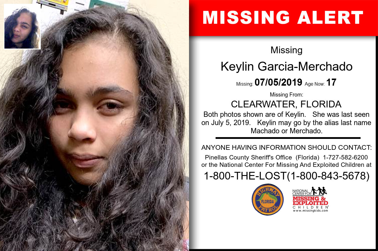 KEYLIN_GARCIA-MERCHADO missing in Florida