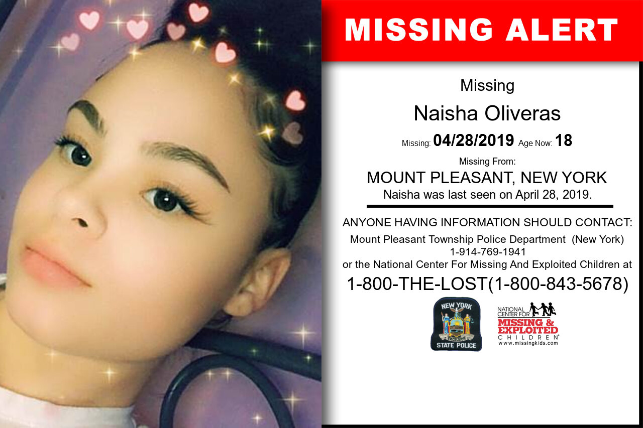NAISHA_OLIVERAS missing in New_York