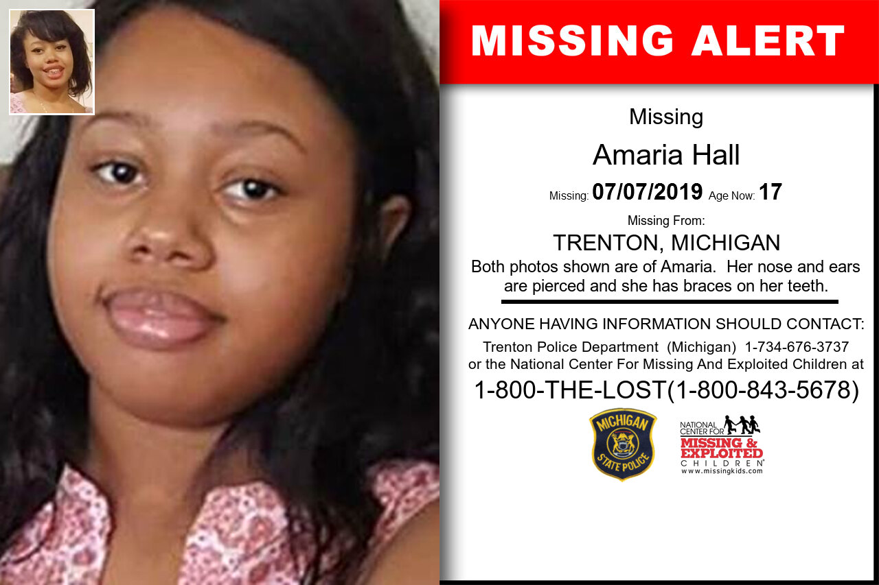 AMARIA_HALL missing in Michigan