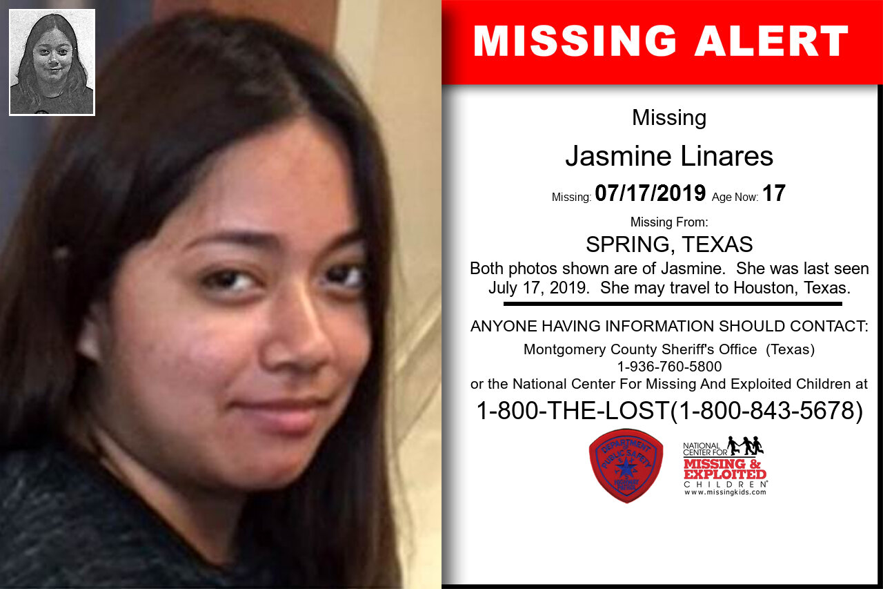 JASMINE_LINARES missing in Texas